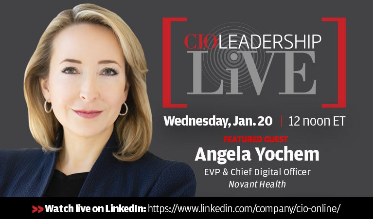 CIO Leadership Live, Jan 20