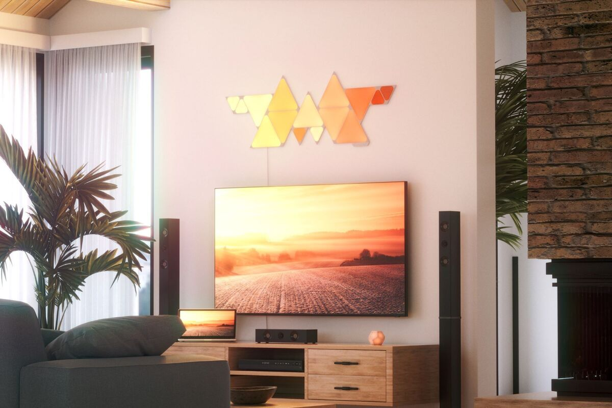 Nanoleaf Shapes – Triangles review: Variety is the spice of light