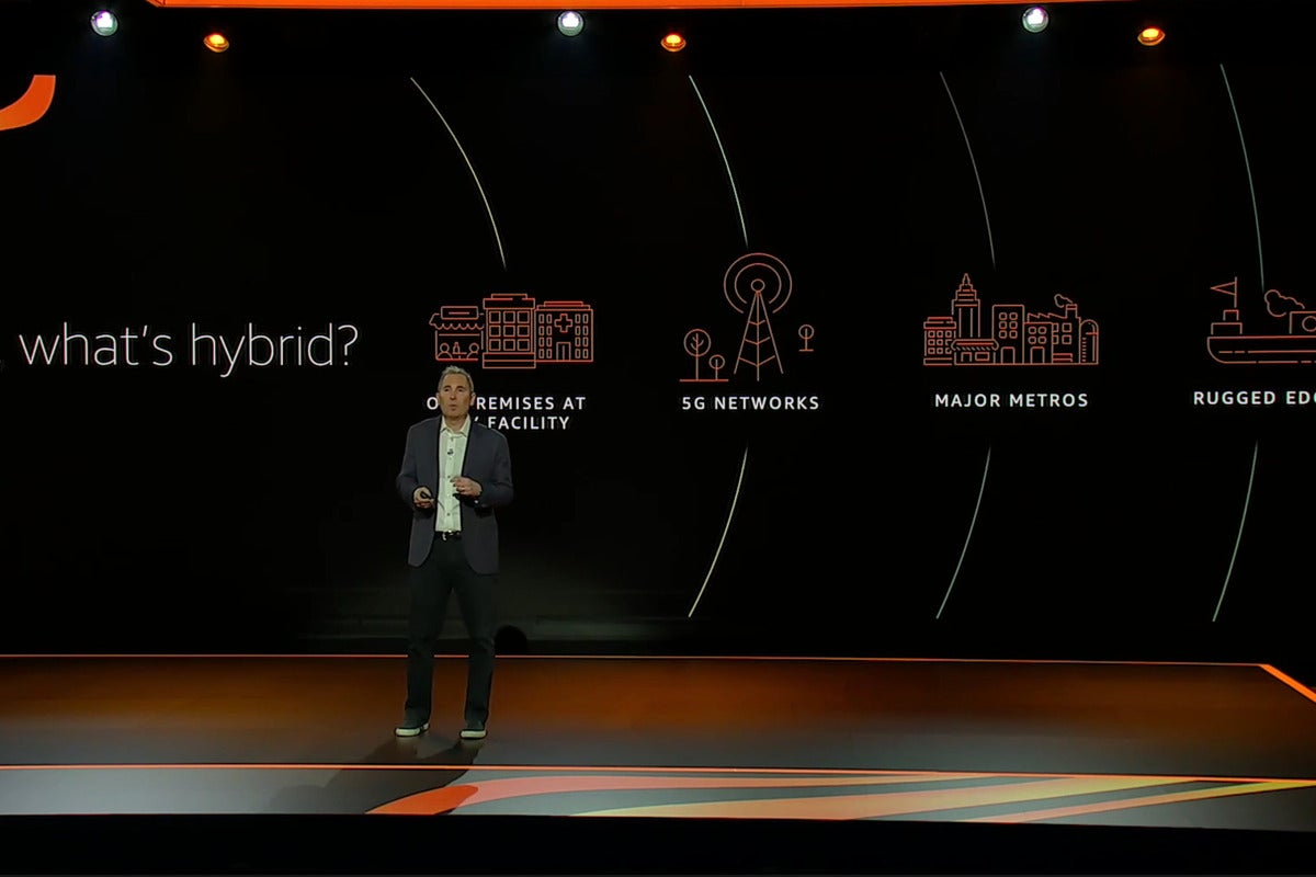 AWS re:Invent: AWS gets more hybrid, but not multicloud