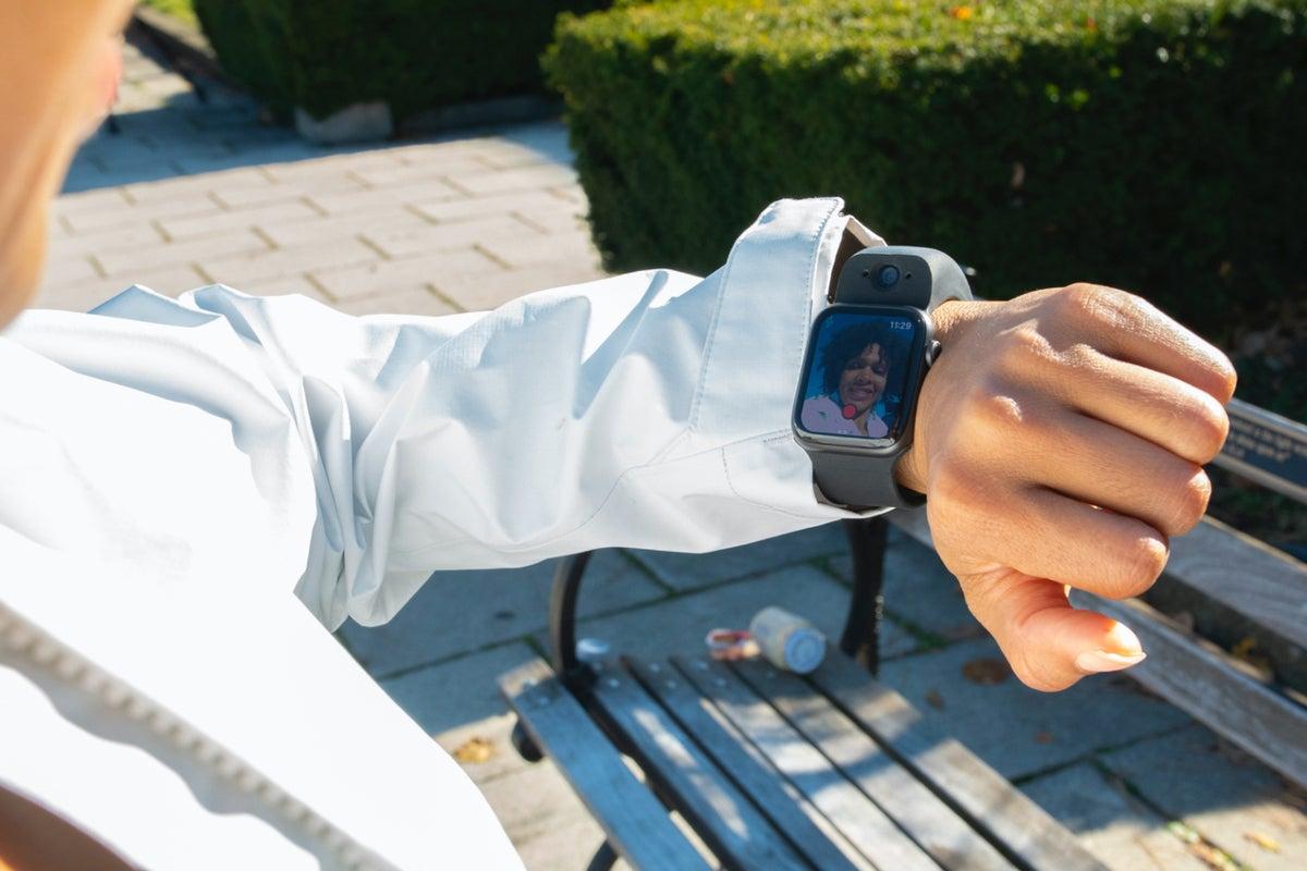 wristcam live video