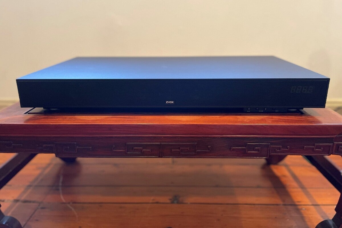 Zvox SoundBase 440 review: A disappearing breed of TV sound