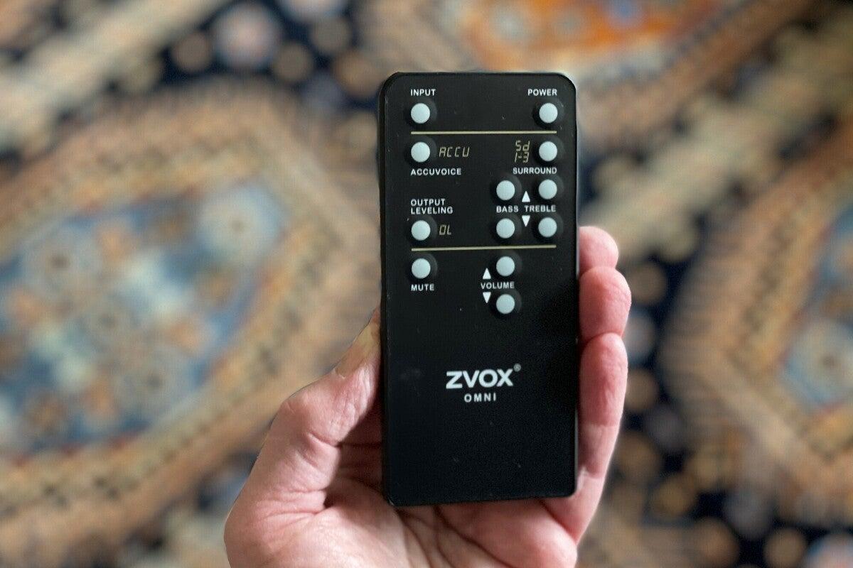 zvox soundbase 440 از راه دور