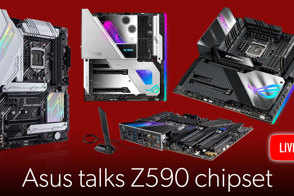 <p>Asus talks about the new Rocket Lake chipset: Z590 thumbnail