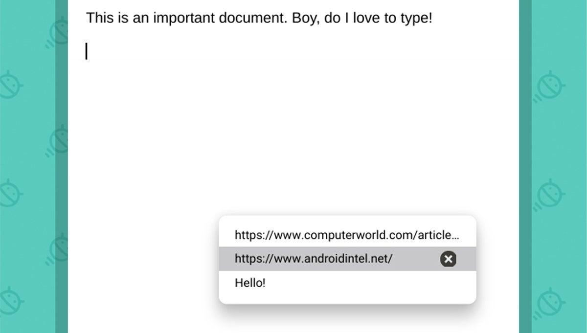 Funciones de Chrome OS: Administrador de portapapeles