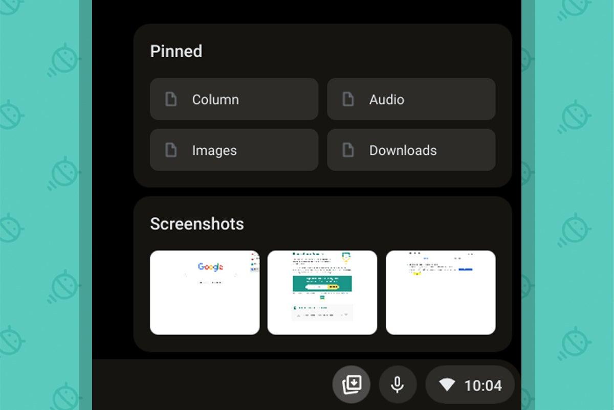 Características del sistema operativo Chrome: espacio de almacenamiento