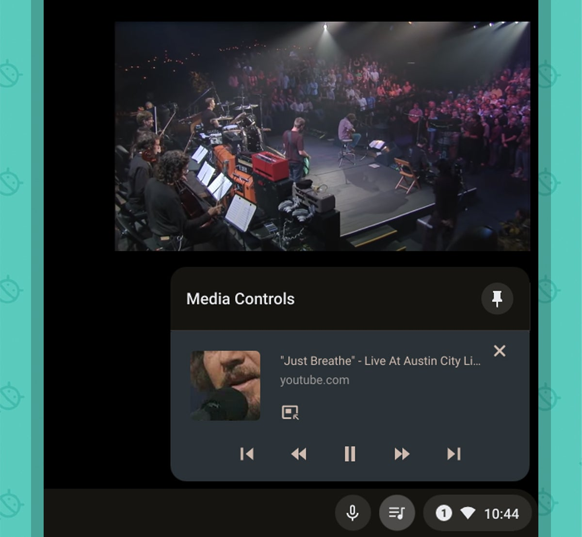 Funciones de Chrome OS: reproductor multimedia (2)