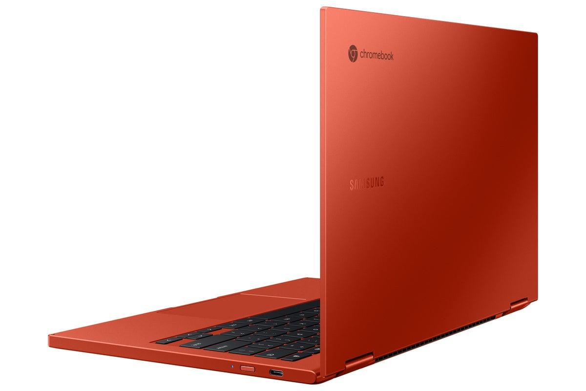 سامسونگ کهکشان chromebook2 قرمز است