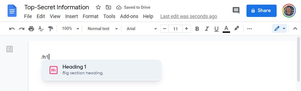 Google Docs Shortcuts (3)