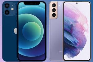 iphone 12 galaxy s21