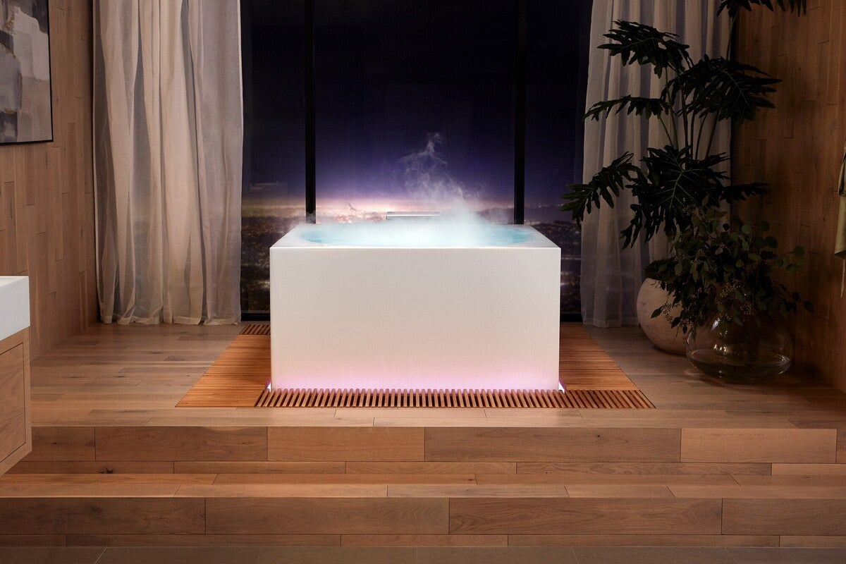 kohler stillness bath 100872790 large - Best of CES 2021: Smart home and home entertainment products