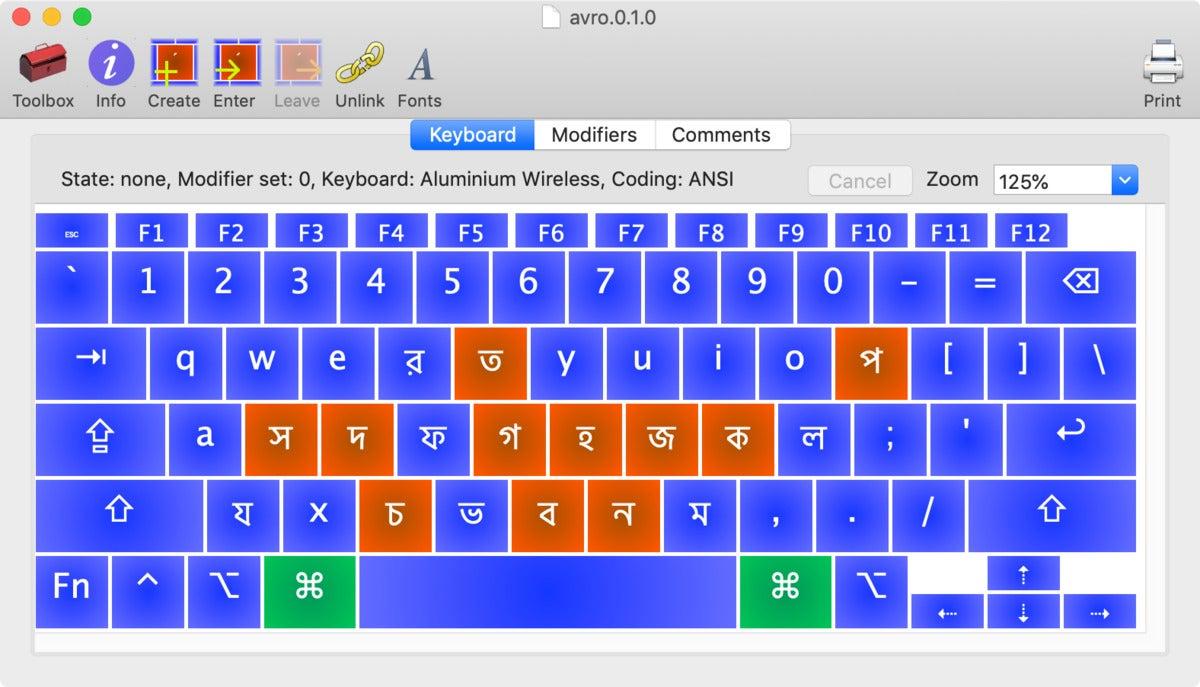 mac911 ukelele keyboard screenshot