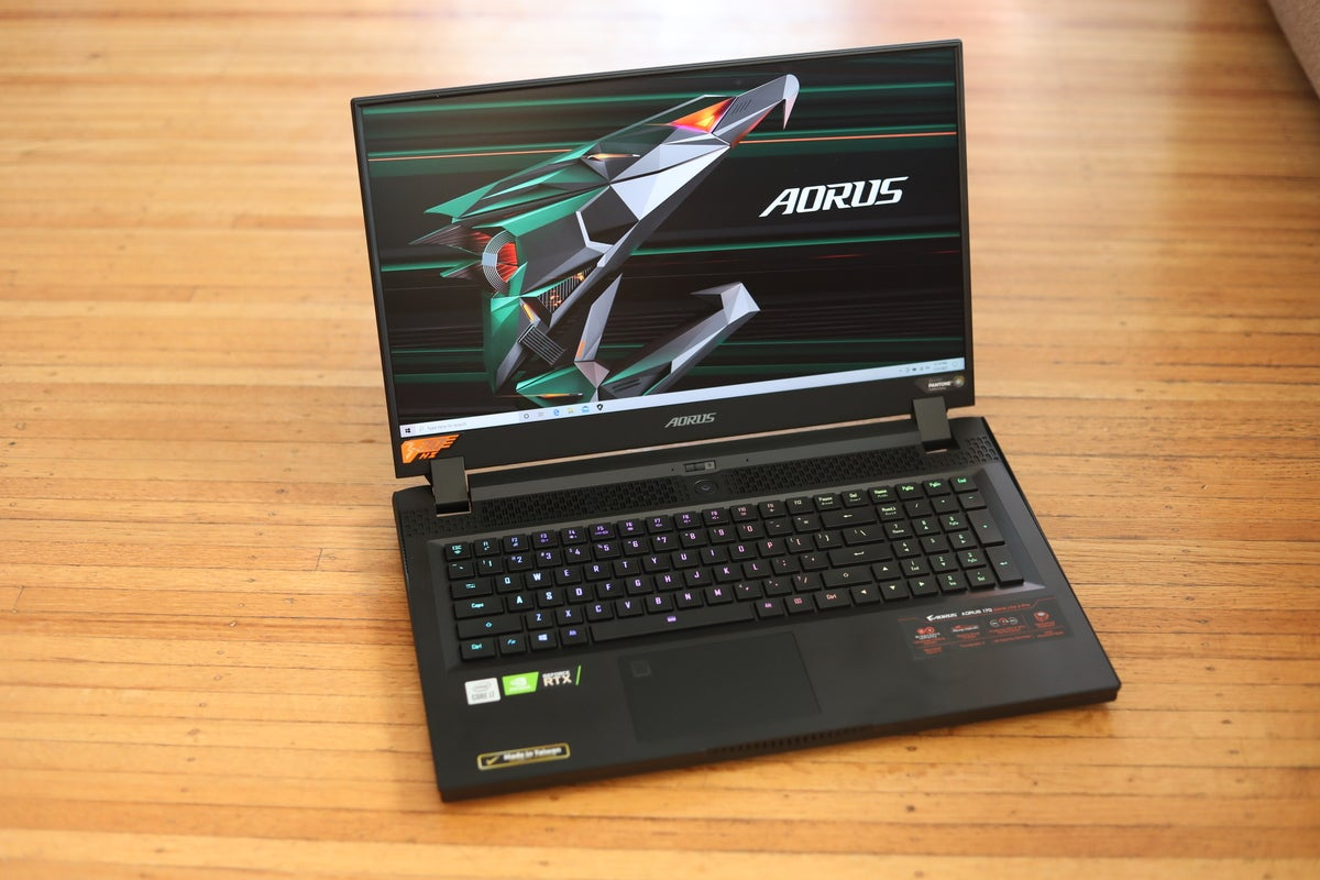 Aorus 17 با GeForce RTX 3080 و Core i7-10870H