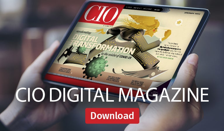 CIO digital magazine
