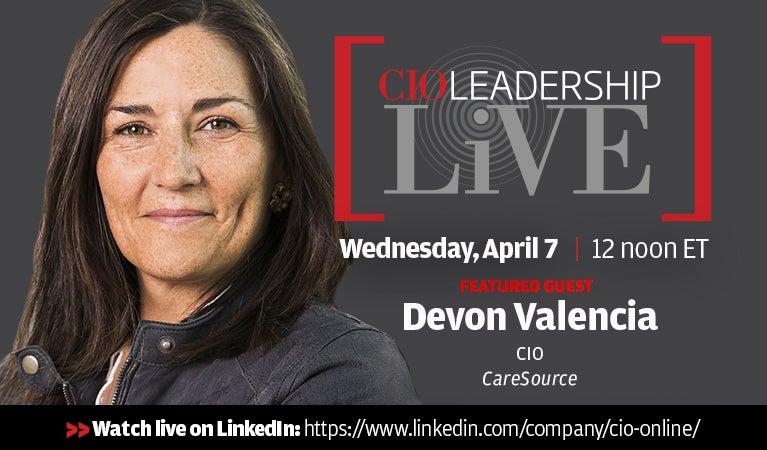 CIO Leadership Live, April 20