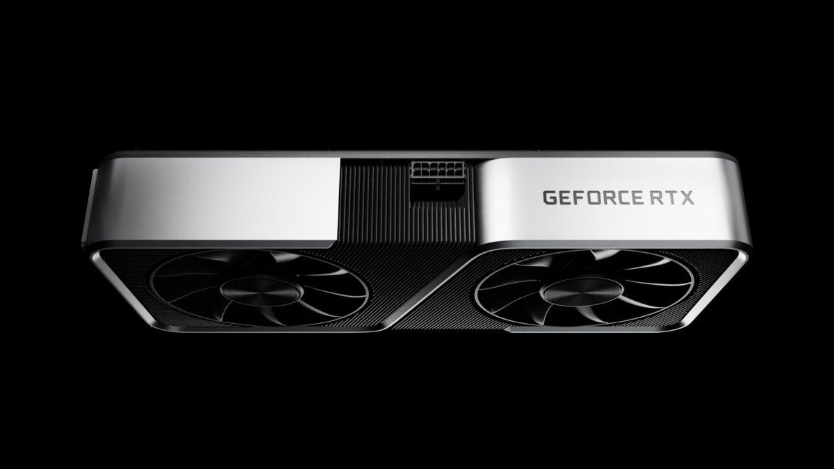 nvidia geforce rtx grafikkarte generisches bild ces 2021