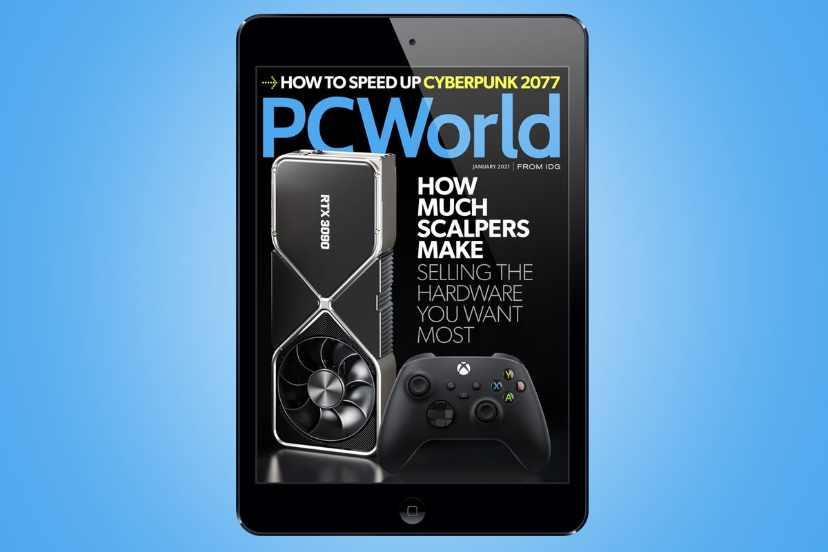 <p>PCWorld's January Digital Magazine: How much scalpers make selling the hardware you Need most thumbnail