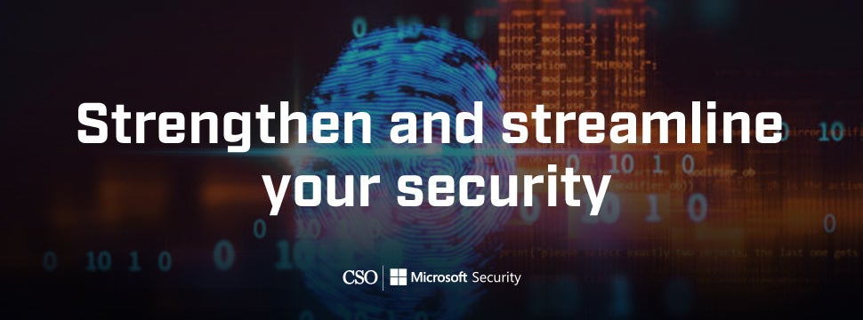 Stengthen and Streamline Your Security podcast banner 1