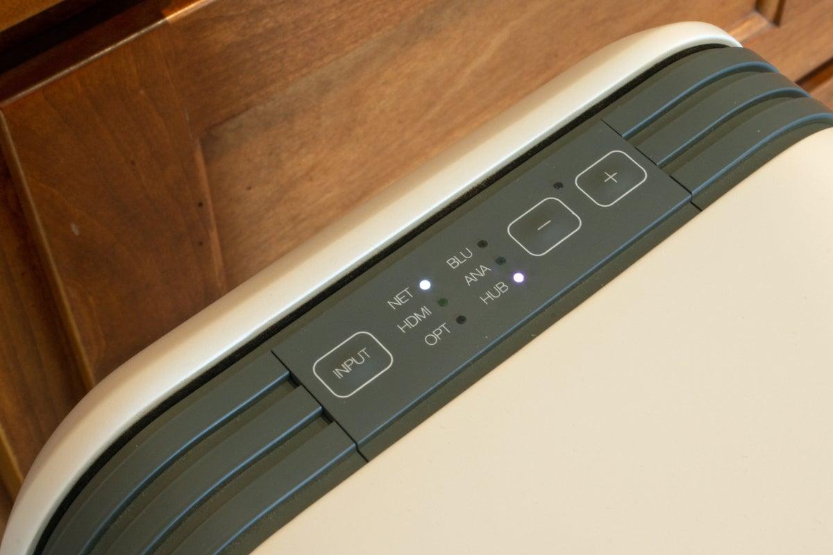 q active 200 speaker controls