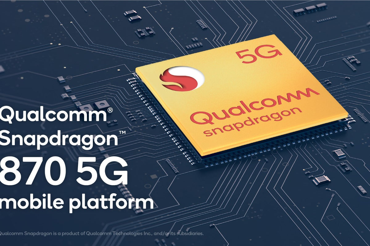 photo of Qualcomm's Snapdragon 870 is a faster 865, but without WiFi 6E image