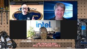 the full nerd ces 2021 intel talks rocket lake s 2