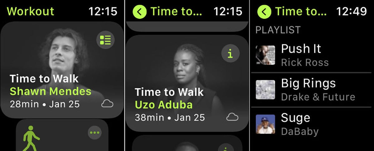 time to walk episodes