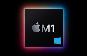 windows on m1 e
