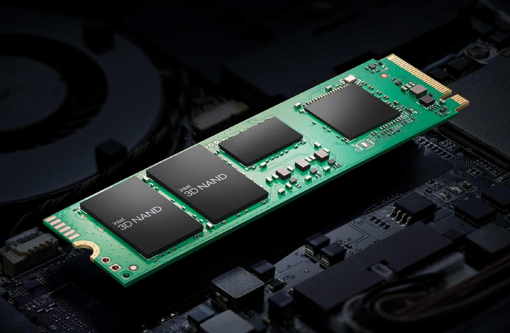 Intel 670p NVMe SSD