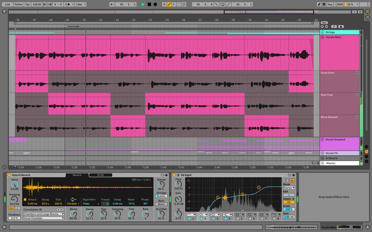 ableton live 11 audio comping