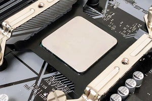 gelid am4 cpu bracket on motherboard