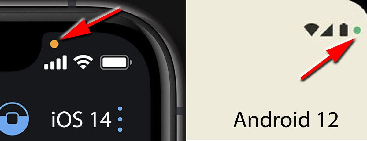 android 12 leak mic icon