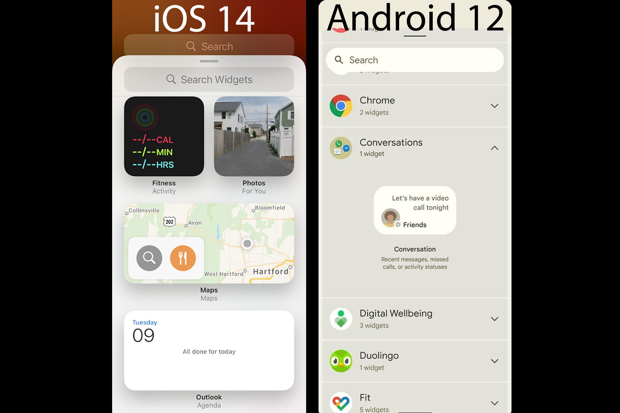 This Android 12 leak looks an awful lot like iOS 14 - PC ...