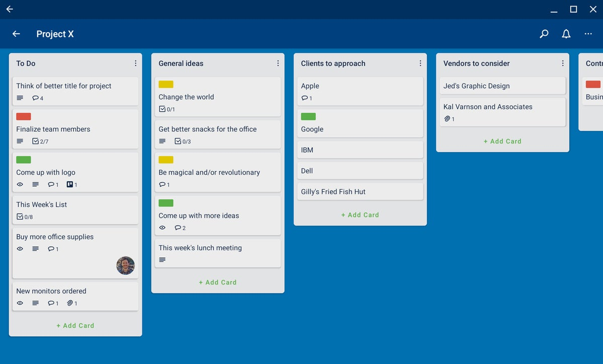 android apps chromebook trello