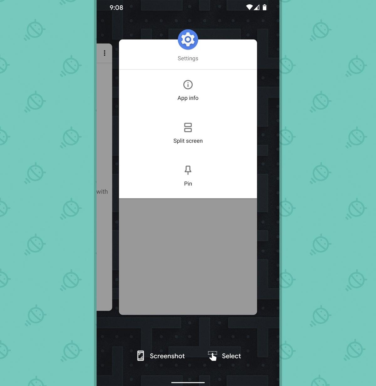 Funciones de Android: Fijación de aplicaciones