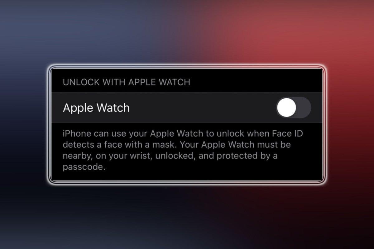 apple watch unlock iphone