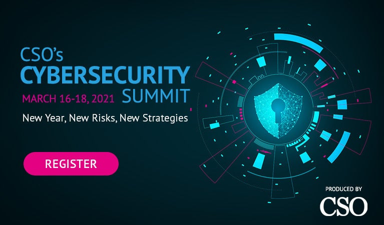 CSO cybersecurity summit, March 16-18