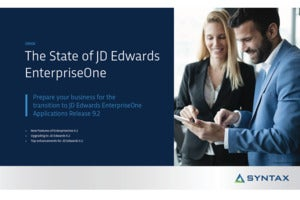 The State of JD Edwards EnterpriseOne