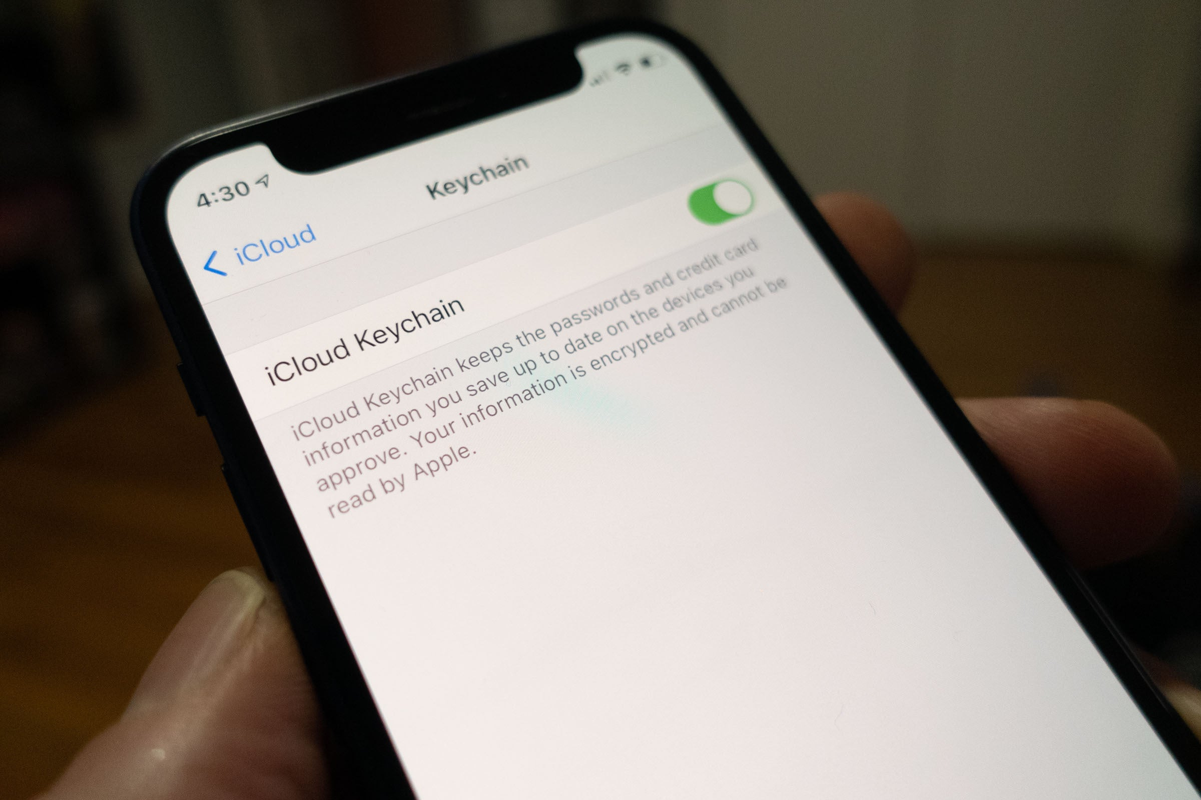 How to master your passwords using iCloud Keychain