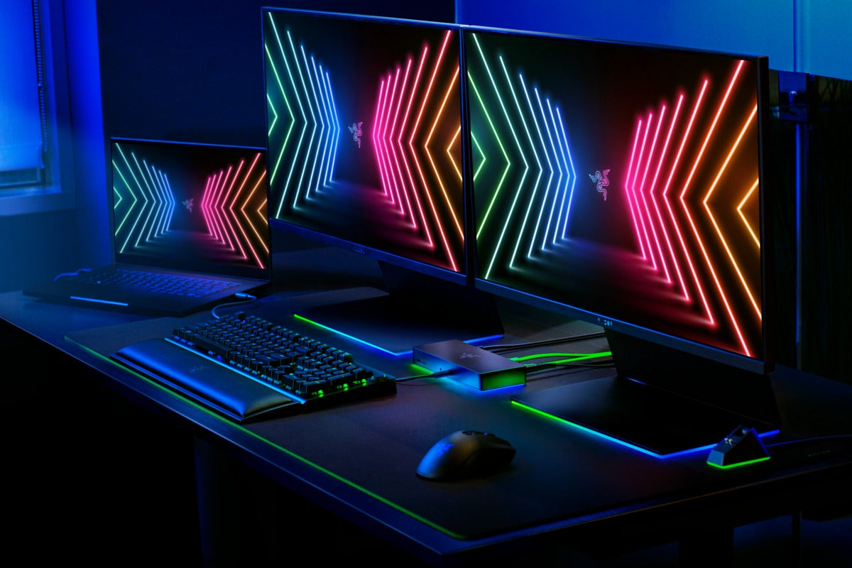 <p>Obviously Razer's swanky new Thunderbolt 4 dock and laptop stand have RGB thumbnail
