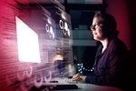 Tech Spotlight   >   The Future of Work [InfoWorld]   >   Developer / virtual code interface overlay