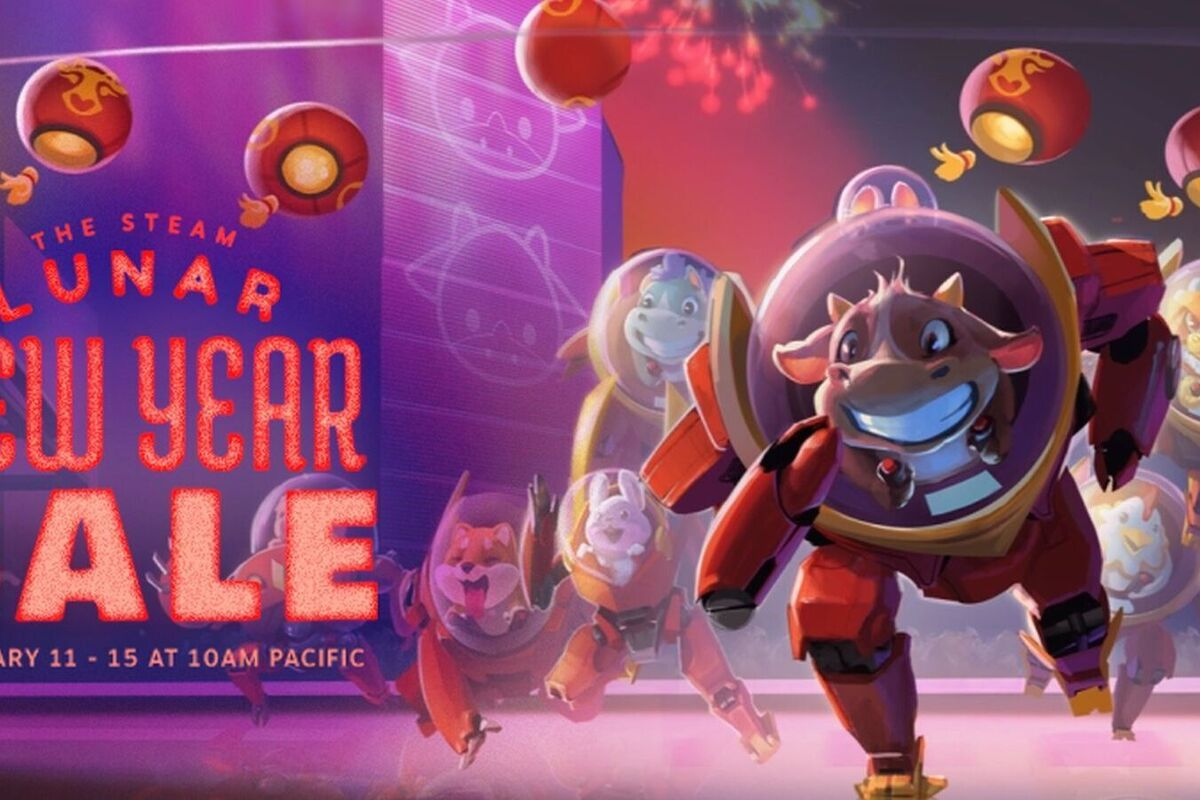 The Steam Lunar New Year Sale is live with cheap games and daily freebies - PCWorld