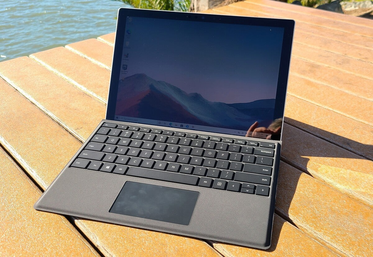 Microsoft surface pro 7+ alt basic full sun