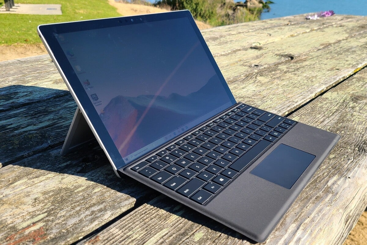 <p>Microsoft Surface Pro 7+ review: A giant leap in graphics performance thumbnail