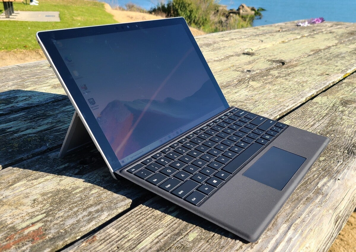 Microsoft surface pro 7+ primary