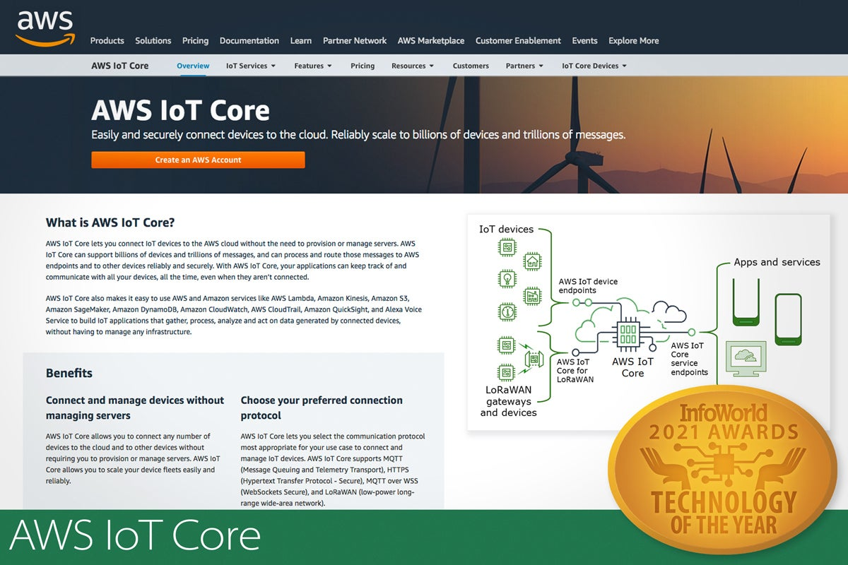 toy 2021 aws iot core