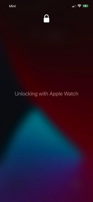 unlock watch screen