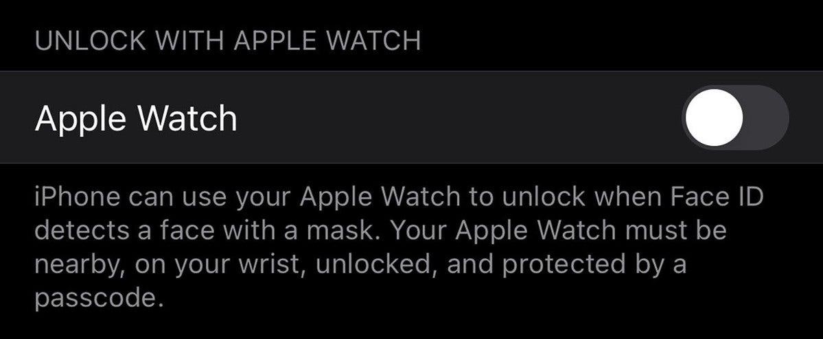 unlock watch settings