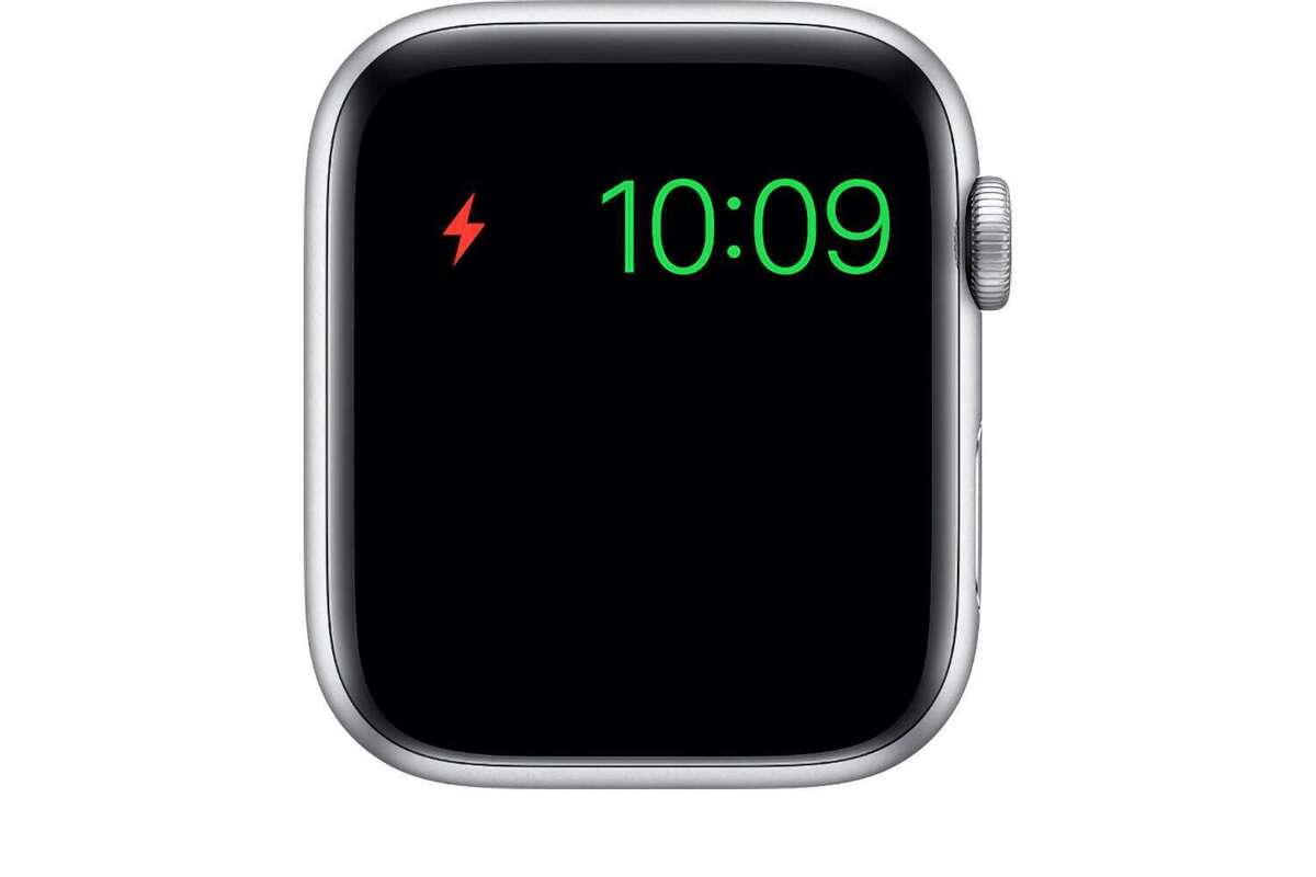 watchos6 series5 battery low