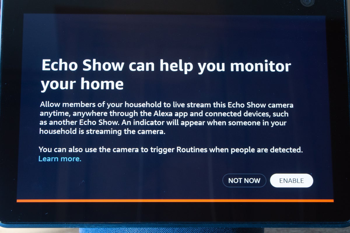 amazon echo home monitor