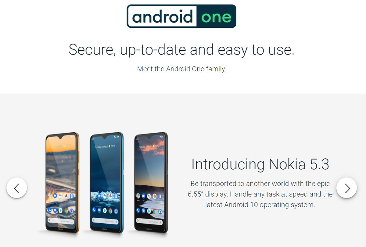 Android One Website