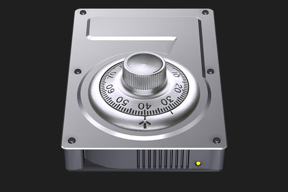 apple hard drive encryption icon